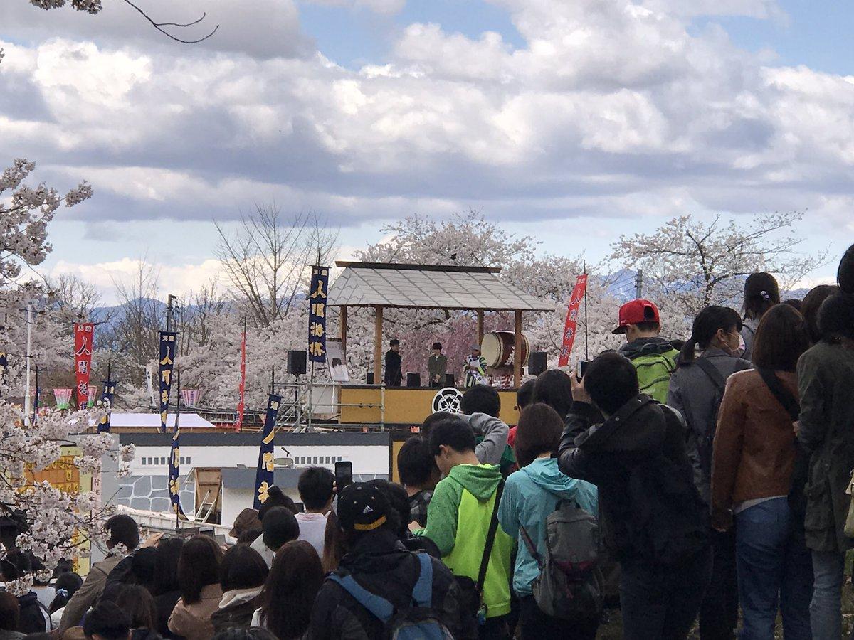 今日も天童人間将棋を観に来てます!「3月のライオン」の宣伝で神木隆之介さんがいらっしゃっておりました!会場ぎゅうぎゅうの