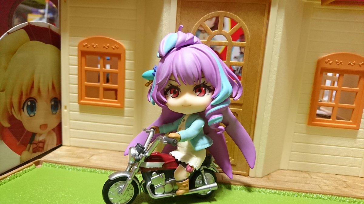 この美雲さん3才なのにバイクサイドカーにフレイア乗せれます