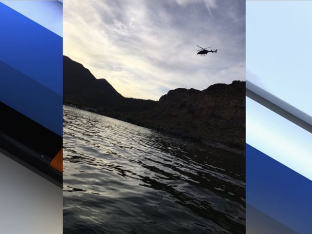 MCSO: Jet skier collides with boat at Saguaro Lake, never resurfaces. https://t.co/8WR8gSgBOi #abc15