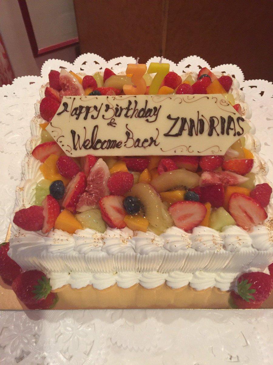 Happy birthday & Welcome Back ZANDRIAS!! 昨日行われたクラウドファンディ