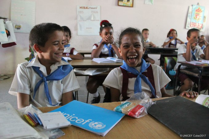 Getting children back into classrooms after #HurricaneMatthew https://t.co/iUTII60Afo  #foreverychild, an education 📚