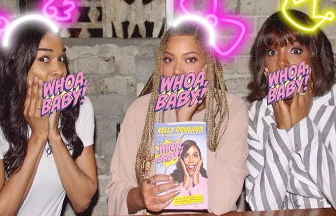 Destiny's Child reunites to celebrate Kelly Rowland's book launch https://t.co/B3S7k5YGHr