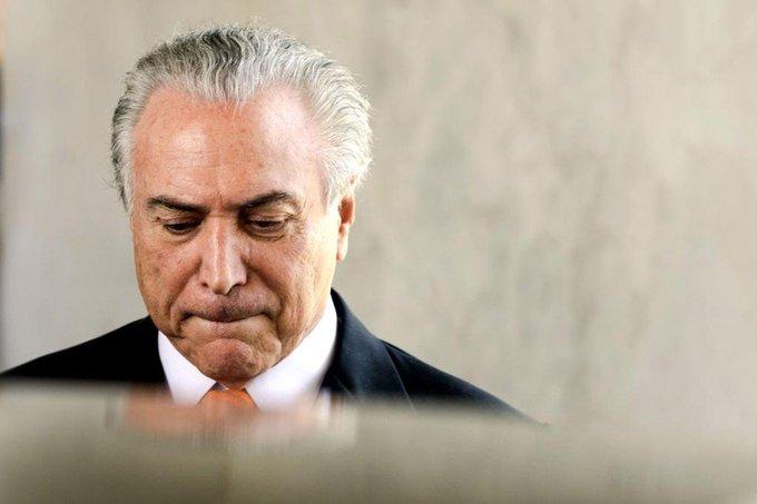 Temer acha corrupção 'triste', mas não faz nada https://t.co/5w22LnWfGs via @blogdojosias