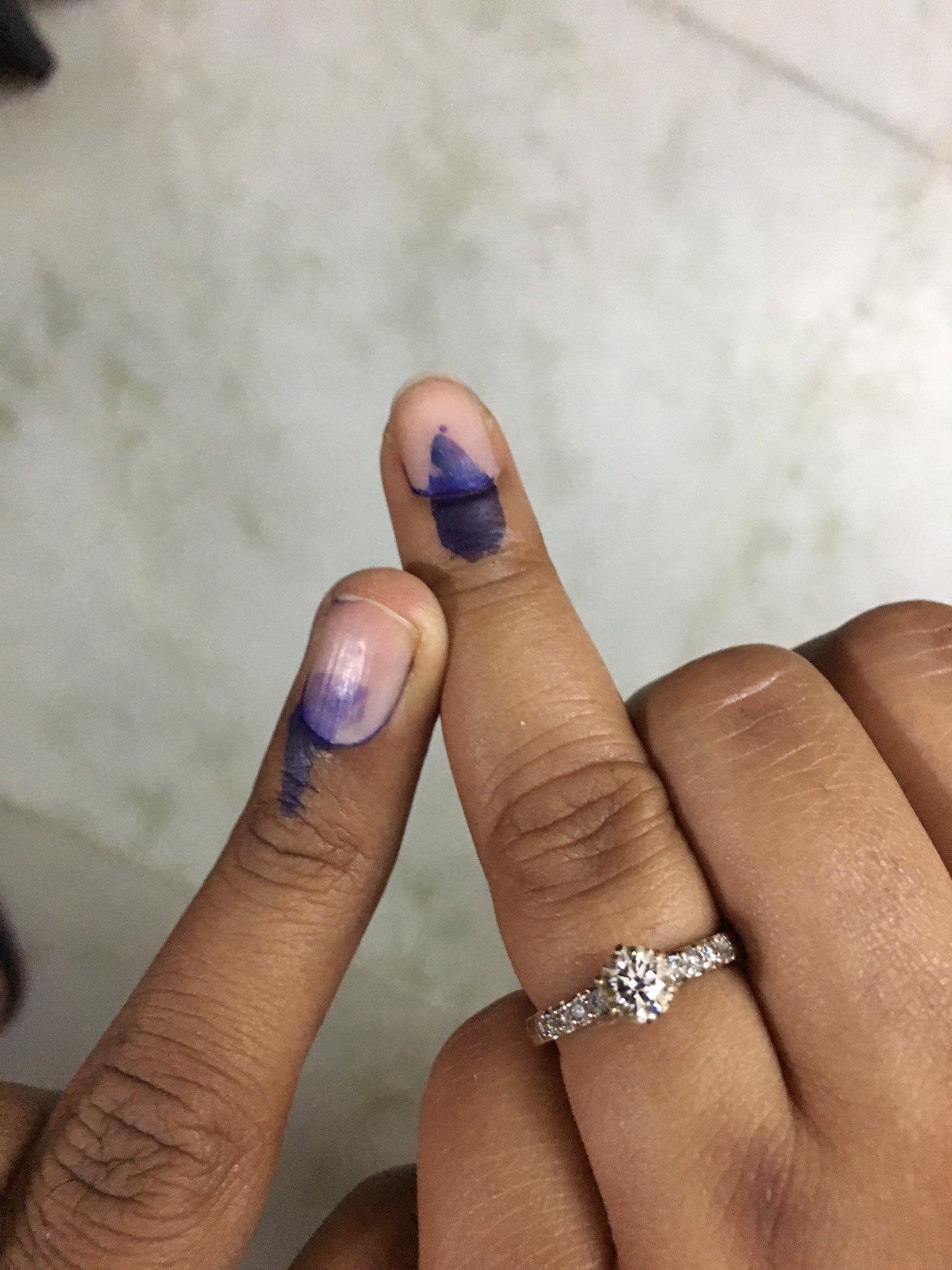 #MCDelections2017 Check. Hoping whosoever wins take concrete steps to clean delhi. #DelhiVotes ���� https://t.co/PRm2TFQgFF