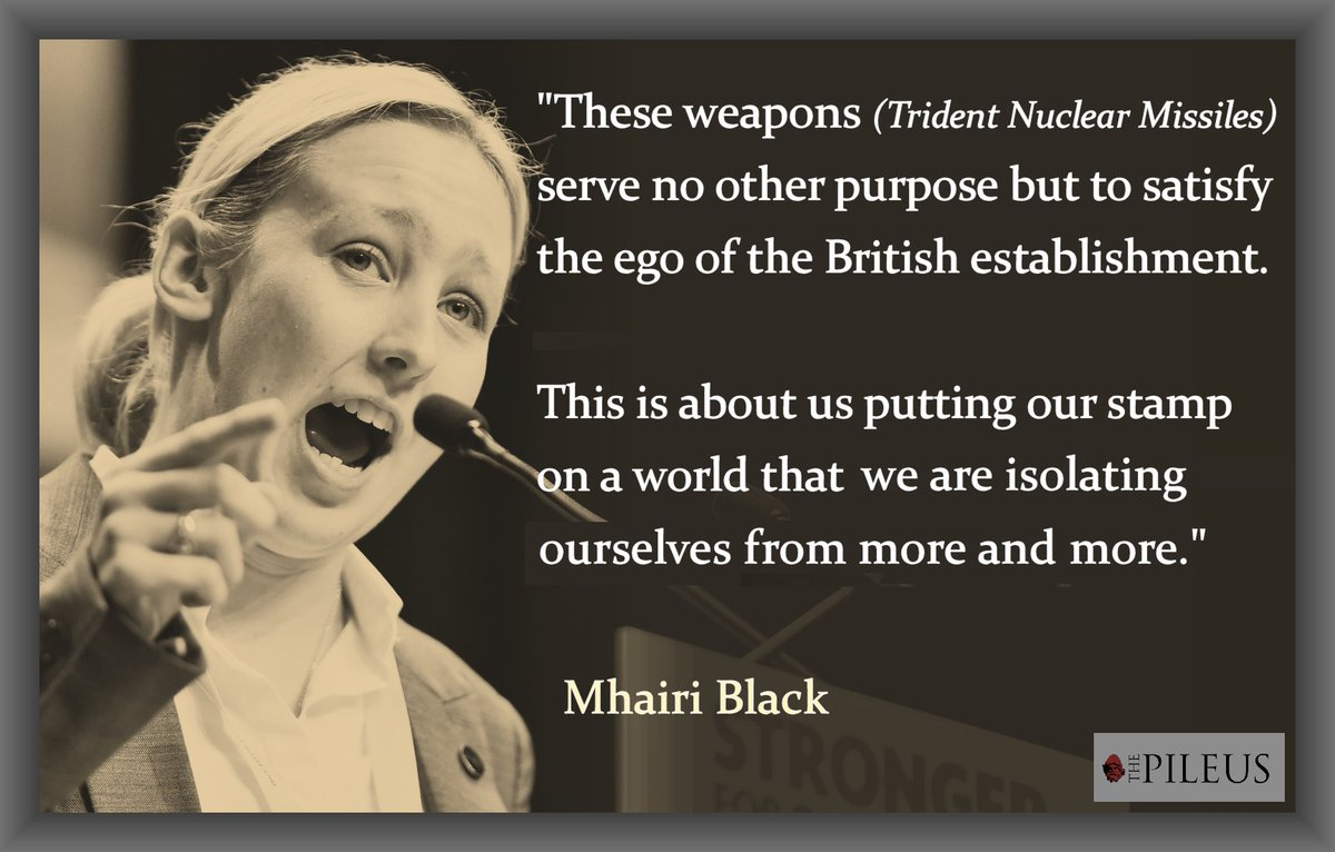 RT @thepileus: Mhairi Black firmly saying what BBC viewers really need to understand about Trident #marr https://t.co/T3msAVPW3p