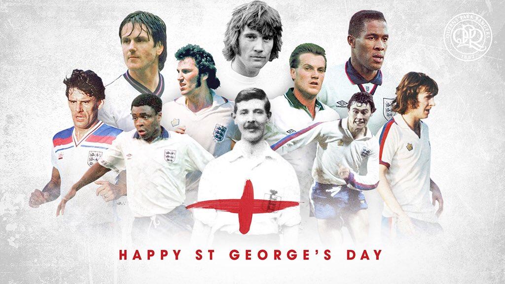 RT @QPRFC: Happy #StGeorgesDay, R's fans! #QPR https://t.co/Rpj0G3s9hR