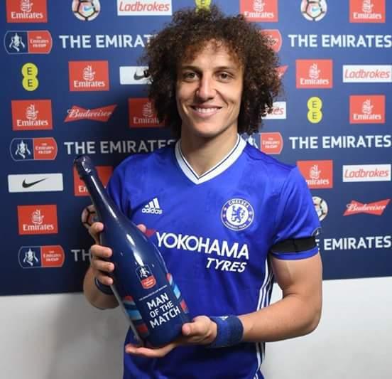 Geezer Happy birthday Man of the match David Luiz