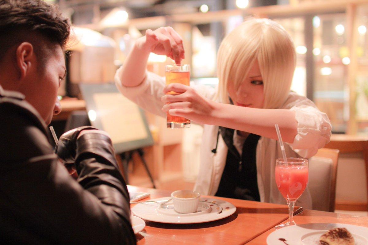 【コスプレ/ユーリ!!! on ICE /ユーリ・プリセツキー】念願のオタユリ🐯オタベック / photo/ #絢朔#絢