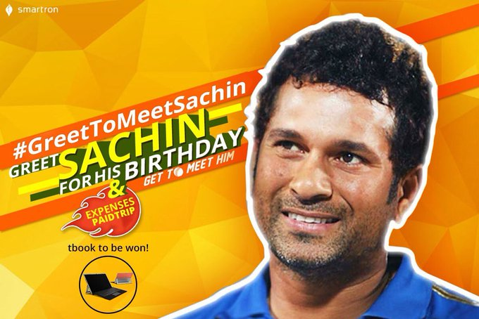 Happy Birthday To the Living Legend God Of Cricket Sachin Tendulkar...