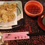 弘前の地で念願のばっけの天ぷら #ふらいんぐうぃっち
