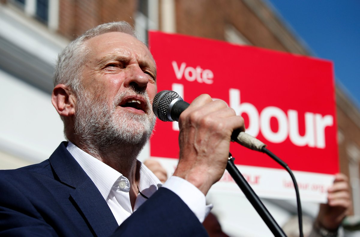 British opposition leader Jeremy Corbyn has said he may suspend his country's involvement in airstrikes against Syria if elected as PM.