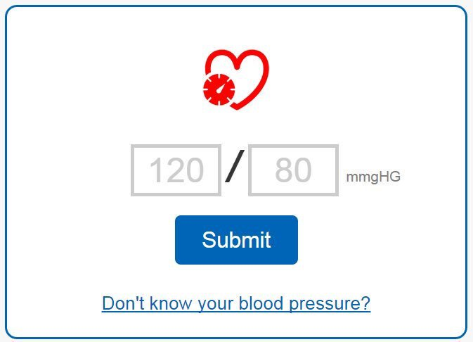 Had a blood pressure check? This tool will help you understand the results: https://t.co/bxgAKiT0M2