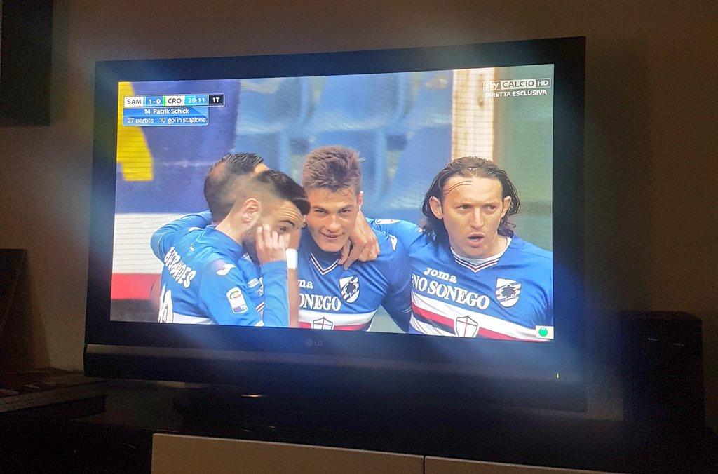 #SampdoriaCrotone