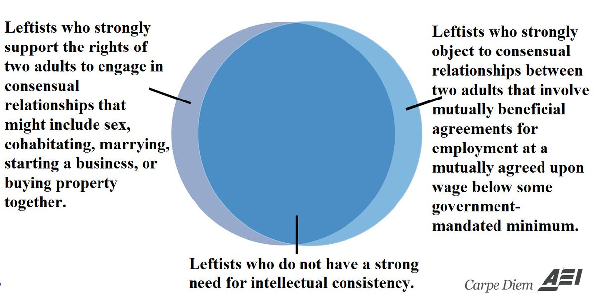 Venn Diagram On Consensual Relationships Between Two Adults