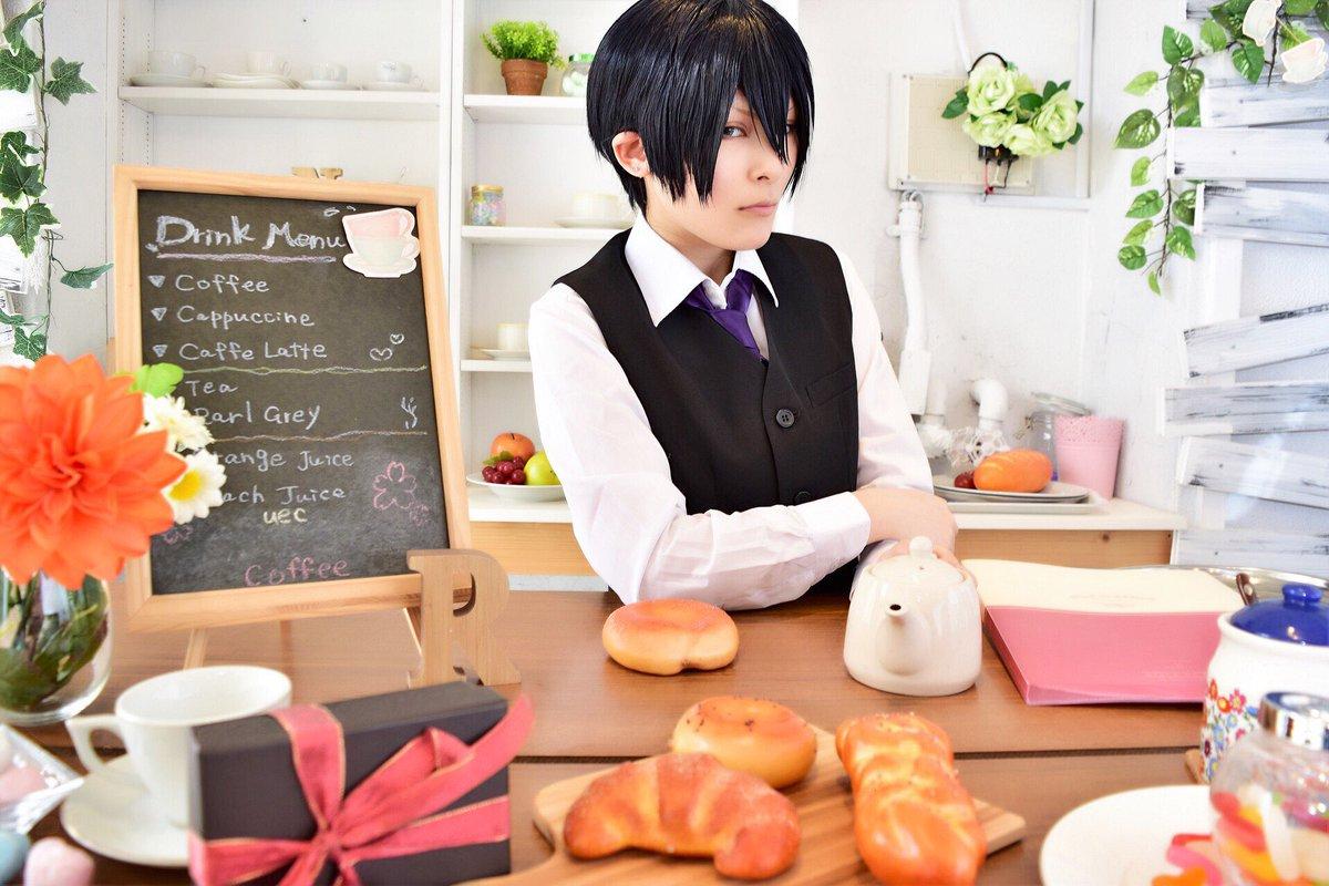 [Cosplay]SERVAMP Cafeリヒト・ジキルランド・轟P:Ruchisan