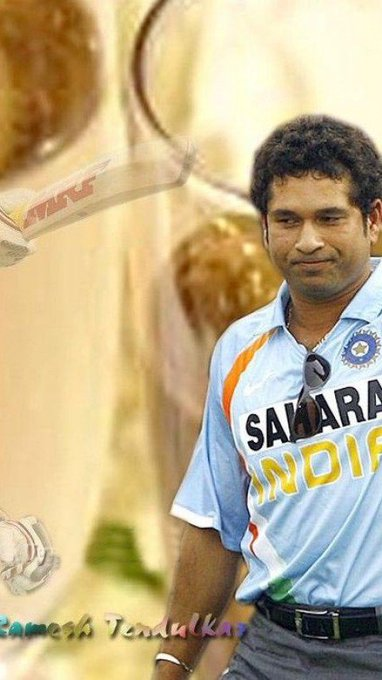Wish you advance HappY BiRtHday Too you Sachin Tendulkar  SiR