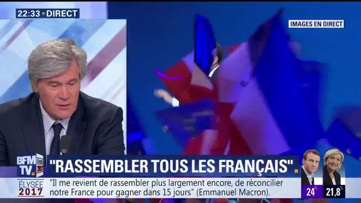 EN DIRECT- @SLeFoll : 'Ce soir, je suis là pour dire une chose : il faut se rassembler et battre le @FN_officiel'  📺 https://t.co/PVPMc8B5a1