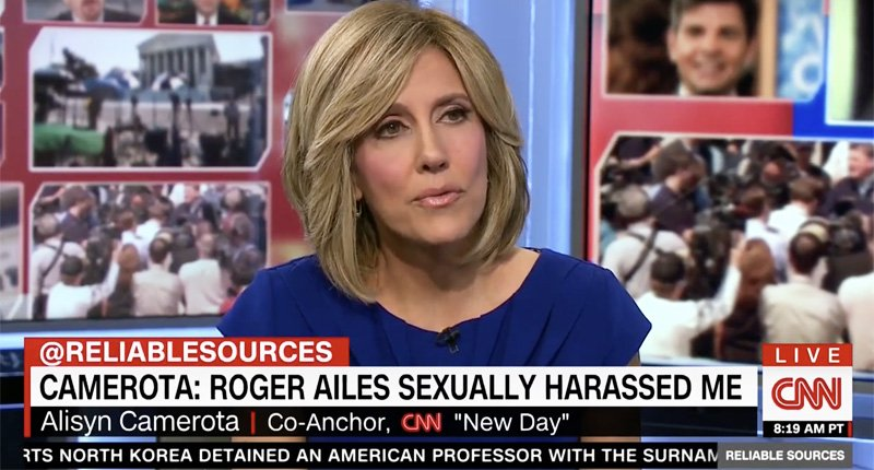 CNN's Alisyn Camerota: Roger Ailes offered to advance my career at Fox if I went to a hotel with him https://t.co/3kQa4DXEXq