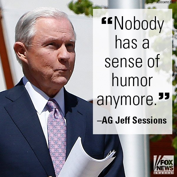 'No Sense of Humor': Sessions Defends Hawaii 'Island in the Pacific' Remark https://t.co/hBpSvClJoK