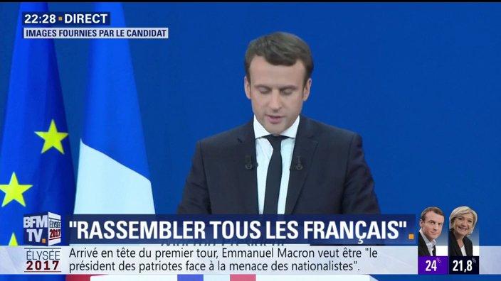 EN DIRECT - @EmmanuelMacron : 'Le défi est de décider de rompre jusqu'au bout'  📺 https://t.co/PVPMc8B5a1