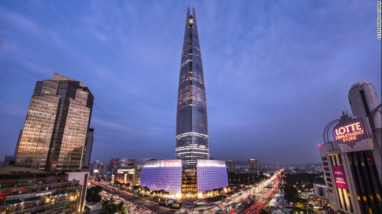 The 1,820-foot Lotte World Tower features the world's tallest and fastest double-decker elevator https://t.co/oY6UuTBPJw via @CNNStyle