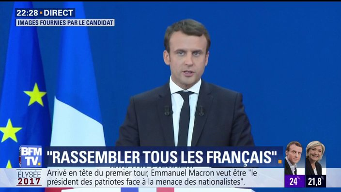 EN DIRECT - @EmmanuelMacron : 'Le défi est d'ouvrir une nouvelle page de notre vie politique'  📺 https://t.co/PVPMc8B5a1