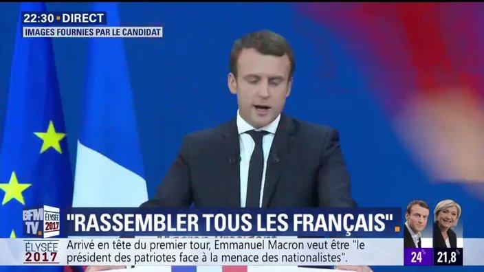 EN DIRECT - @EmmanuelMacron : 'Vous avez montré qu'il n'y avait dans notre pays aucune fatalité'  📺 https://t.co/PVPMc8B5a1