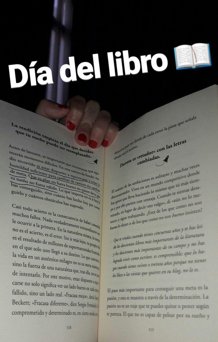 RT @Marian_Sanchez_: #FelizDíaDelLibro #Eudls https://t.co/AC5CNeNhGG