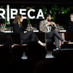Hillary Clinton makes surprise appearance on panel at Tribeca Film Festival in New York