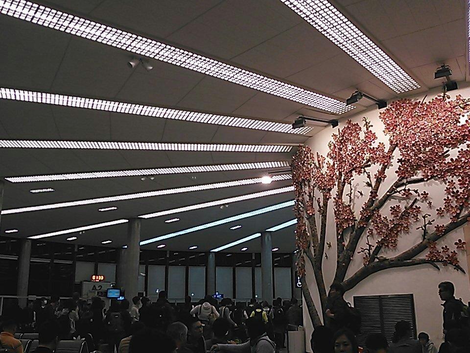 ミリオン 台湾現地勢日本帰国の桃園国際空港最終便勢(Jetstarー&Vanilla Air)より報告【朗報】ア