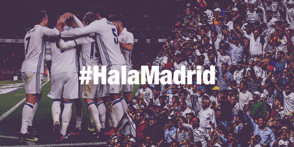 ⌛️⚽️ ¡En 5️⃣ minutos comienza a rodar el balón en el Bernabéu!  🙌 ¡VA...