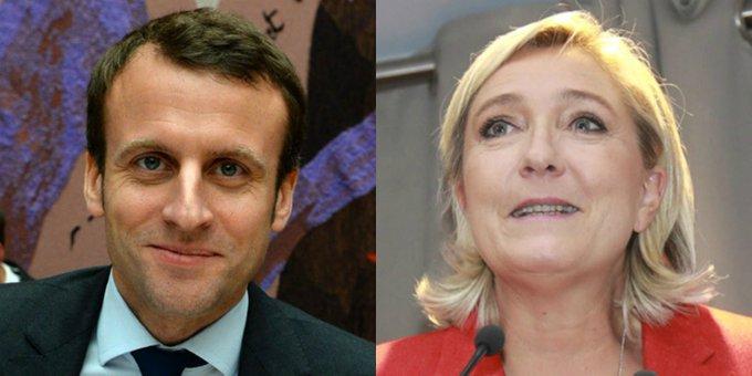 ESTIMATION ELABE – Emmanuel Macron et Marine Le Pen qualifiés pour le 2nd tour de l'élection présidentielle https://t.co/JAxS73sRgp