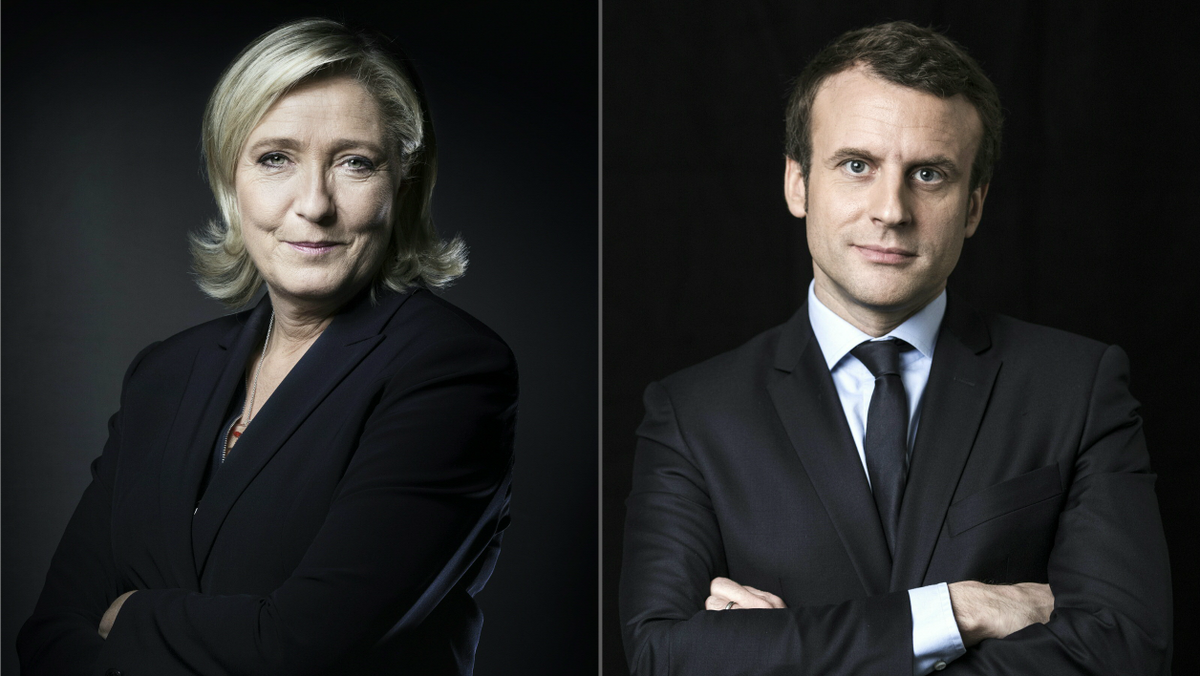 Sondages: Macron battrait largement Le Pen au second tour https://t.co/wYN6Mi658K