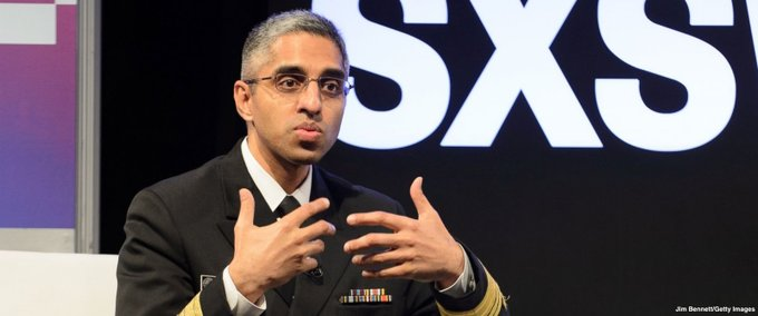 Surgeon General Vivek Murthy asked to resign from his post by the Trump administration https://t.co/m9t327NGyo