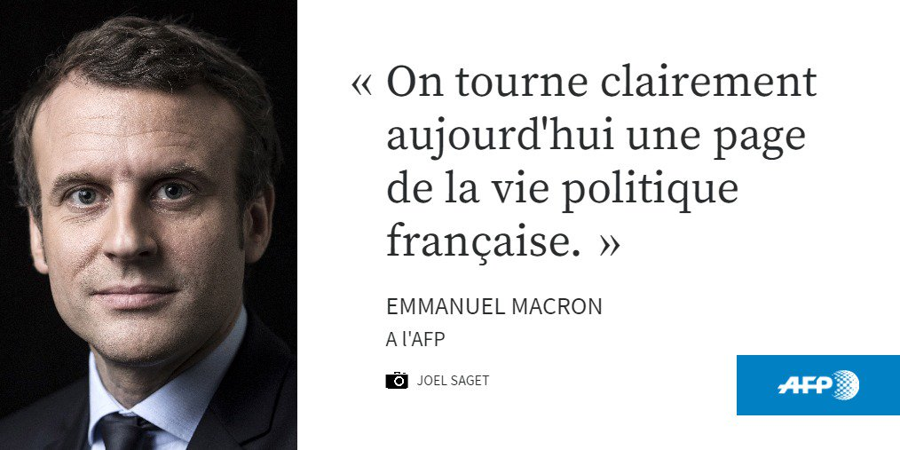 Jamais élu, Emmanuel Macron, 39 ans, est en tête du 1er tour #AFP #Presidentielle2017
