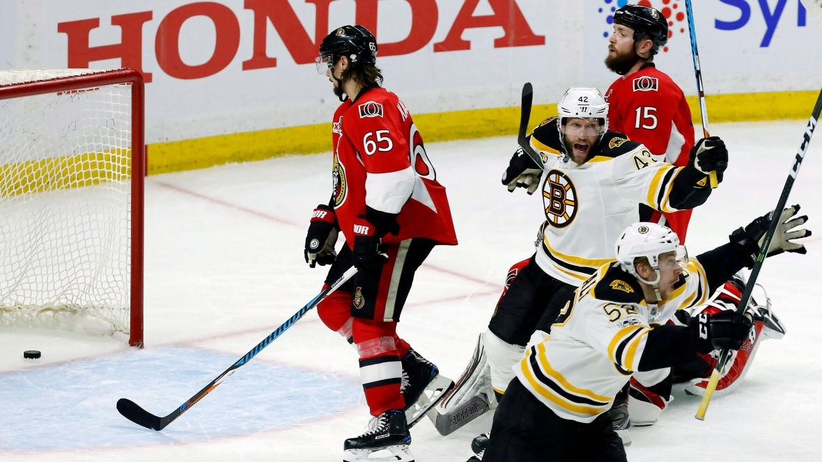 Senators look to rebound after Bruins claw back into series https://t.co/oBrZq7hCOa