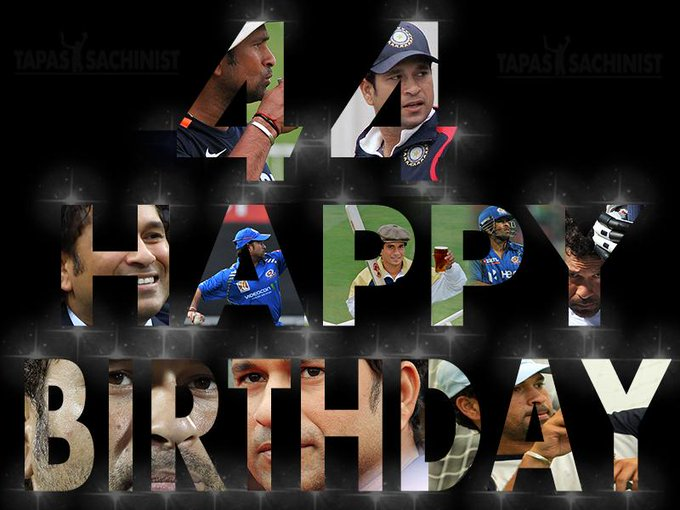 Happy birthday God of Cricket Sachin Tendulkar