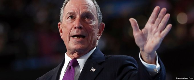 New York billionaire Michael Bloomberg urges world leaders not to follow Pres. Trump's lead on climate change https://t.co/0AECWT8SYq