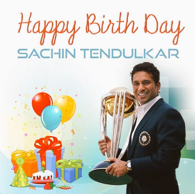 Happy BIRTHDAY  SACHIN SIR Happy Birthday God SACHIN TENDULKAR.