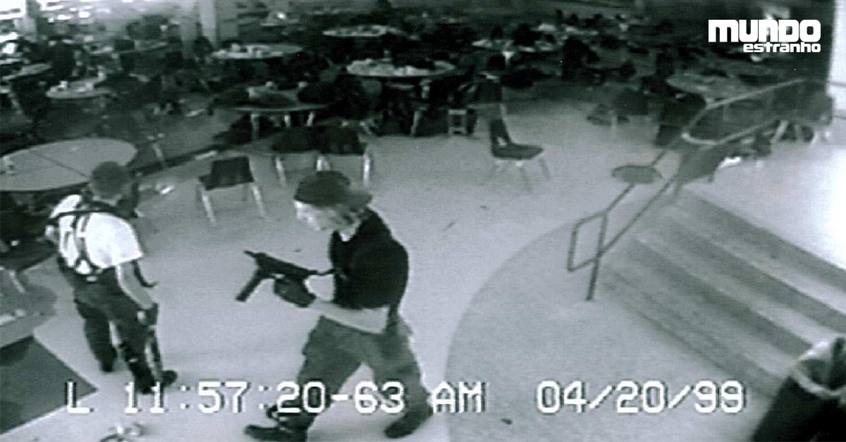 Como foi o Massacre de Columbine? https://t.co/xCBRtfj7fl