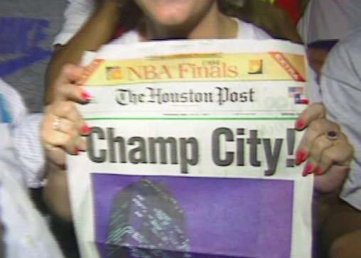 Party like it's 1994? We're taking a look back at the @HoustonRockets' first championship. https://t.co/tubr61zZdG #Rockets50 #RunAsOne