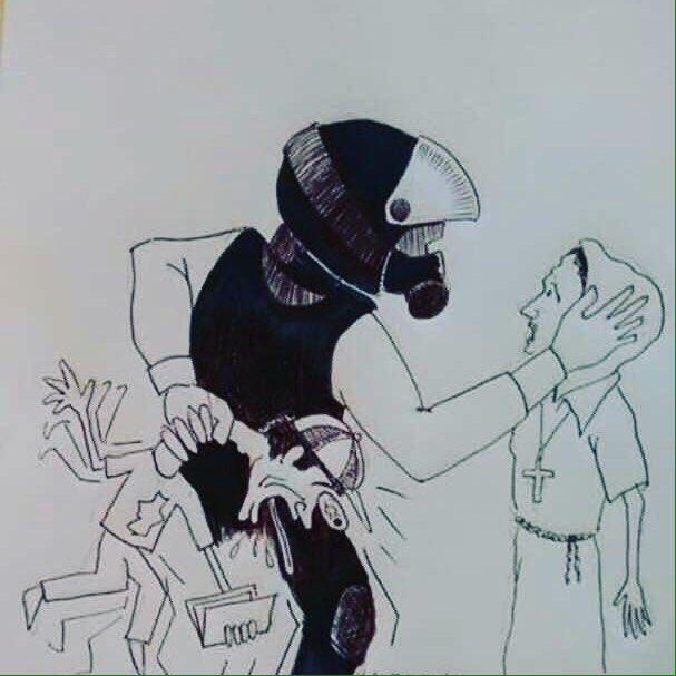 El pueblo de Venezuela no se come el cuento de la babosería que ahora la GNB y la PNB realizan para tapar los crímenes de lesa humanidad.
