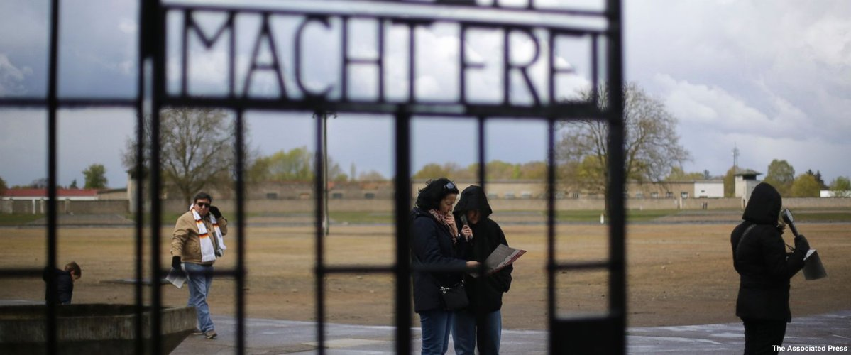 Holocaust survivors gather at memorial sites of former concentration camps to commemorate liberation 72 years ago. https://t.co/nVRCofYSBp