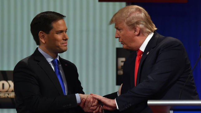 Rubio defends Trump against criticism: 'This whole flip-flop thing is a political thing' https://t.co/GM0wWHf3fS