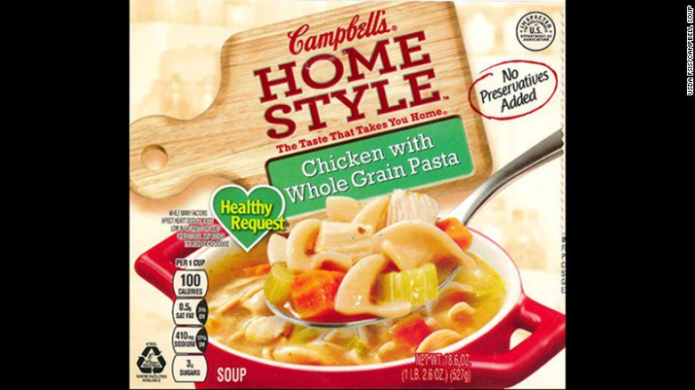 Campbell recalls 'Homestyle' chicken soup as misbranding results in undeclared allergens. https://t.co/rsCmILH2P0