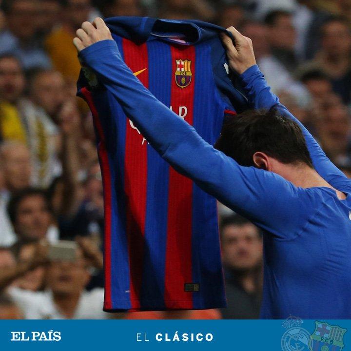 La fotografía de #ElClasico Y la crónica del partido... de Messi https://t.co/nNxU1WxZyq