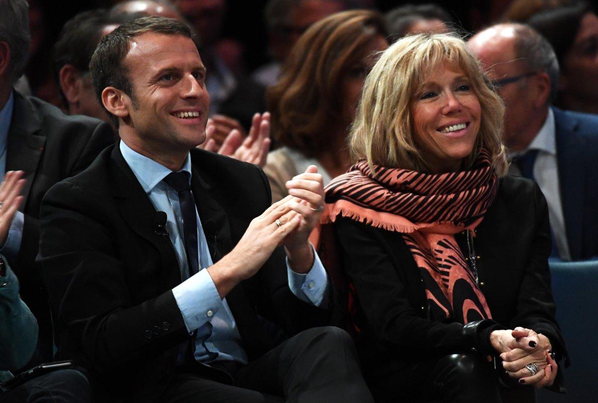 Elle pourrait être la prochaine Première dame : qui est Brigitte, l'épouse d'Emmanuel Macron ? https://t.co/S75Zd1F5UH