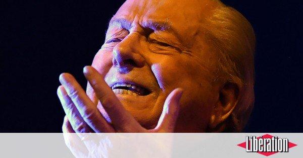 Jean-Marie Le Pen se met en scène à Montretout https://t.co/xwEFx8UhEW