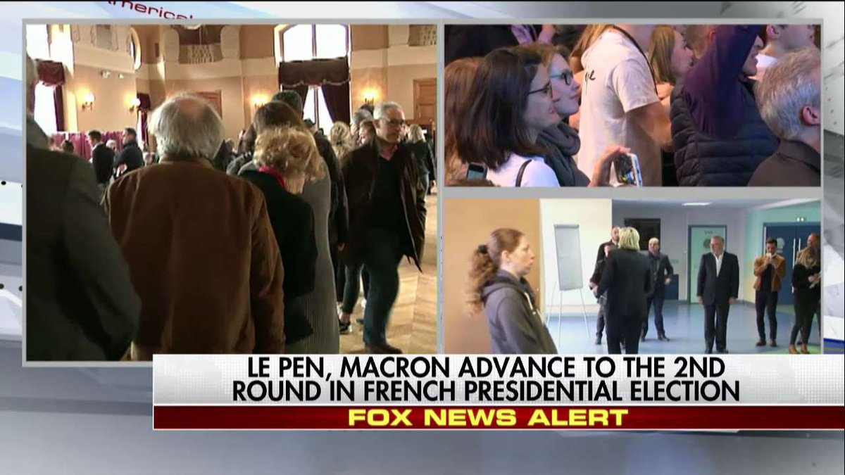 French presidential election: Le Pen, Macron projected as winners in first round https://t.co/K7Th9sJvnC