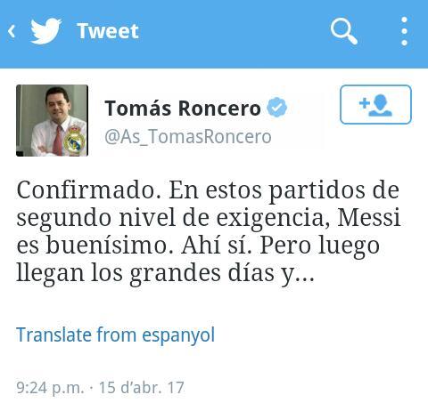RT @Candeliano: Fue gracias a @As_TomasRoncero que tomé conciencia de la gravedad del fracaso escolar en España. https://t.co/LH6pe80z0o